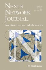 [Journal] Nexus Network Journal: Patterns in Architecture. Volume 9. Number 1