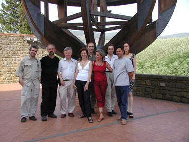 Participants of the Leonardo workshop in Vinci